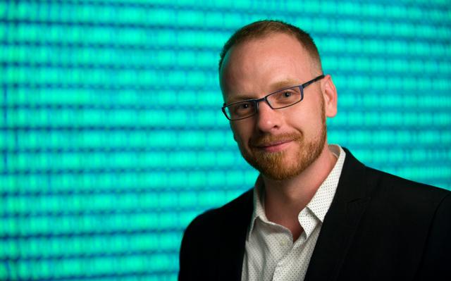 Informatics graduate student Jed Brubaker