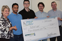 photo:: 1st place hitec team