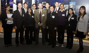 Hal Stern and ICS students at Boeing