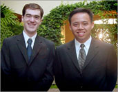 photo:: victor liu and adam bonner, network synthesis founders