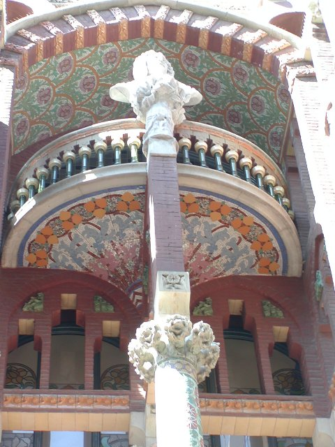 front balcony