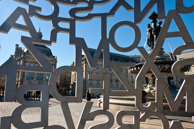 House of Knowledge by Jaume Plensa, Bordeaux, France
