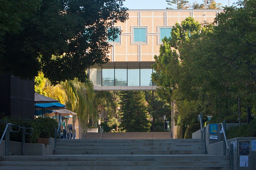 Engineering Gateway from the UC Irvine campus
