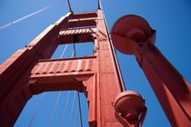 South tower of the Golden Gate Bridge