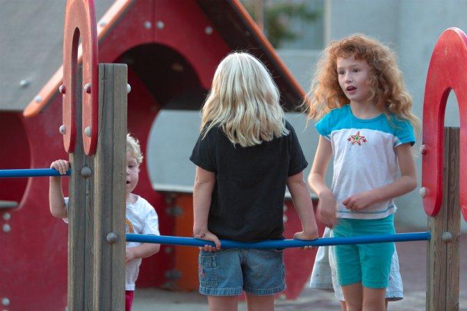 Playground conversation