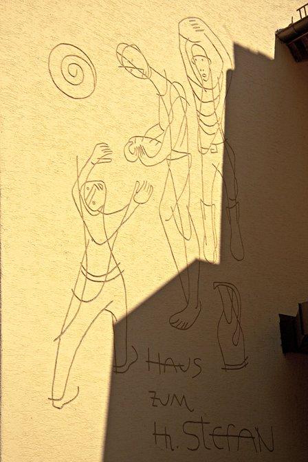 Konstanz doorway: Haus zum hi Stefan