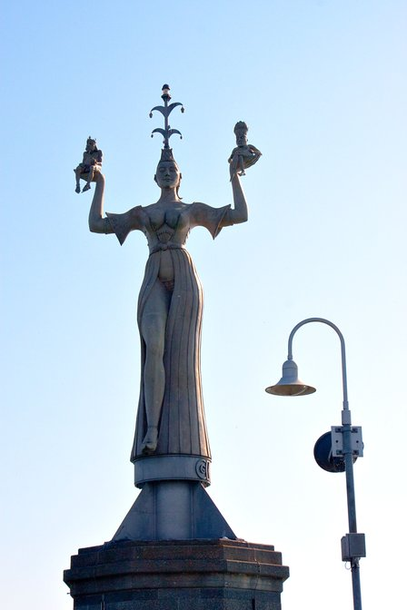Imperia statue in Konstanz