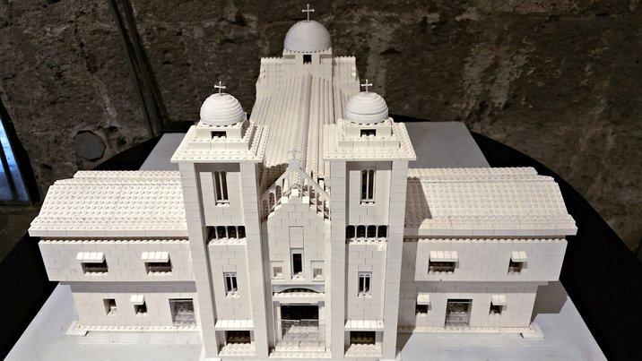 Museum of LEGO churches, Fort Santiago, Manila