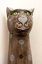 Stair sentry cat