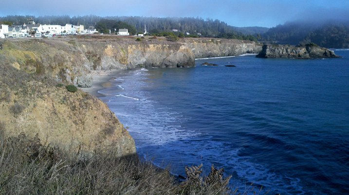 Mendocino from the headlands