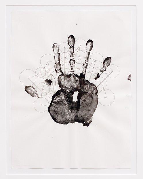 Black Hand, by Gabriel Orozco, at MOCA