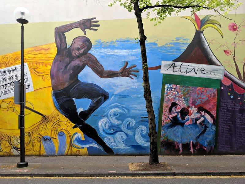 Portland Oregon Street art: Clay & 2nd