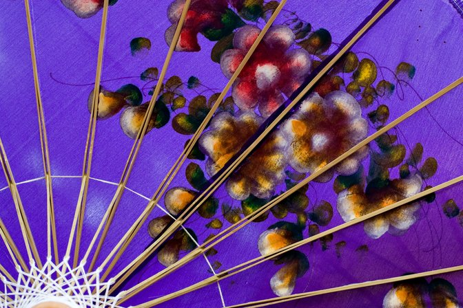 purple parasol | eBay