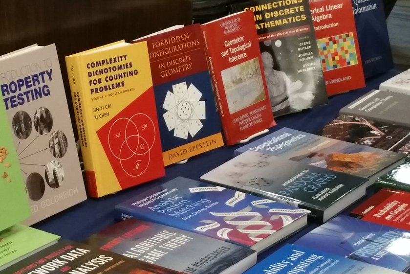 Forbidden Configurations in Discrete Geometry on display alongside other Cambridge University Press books