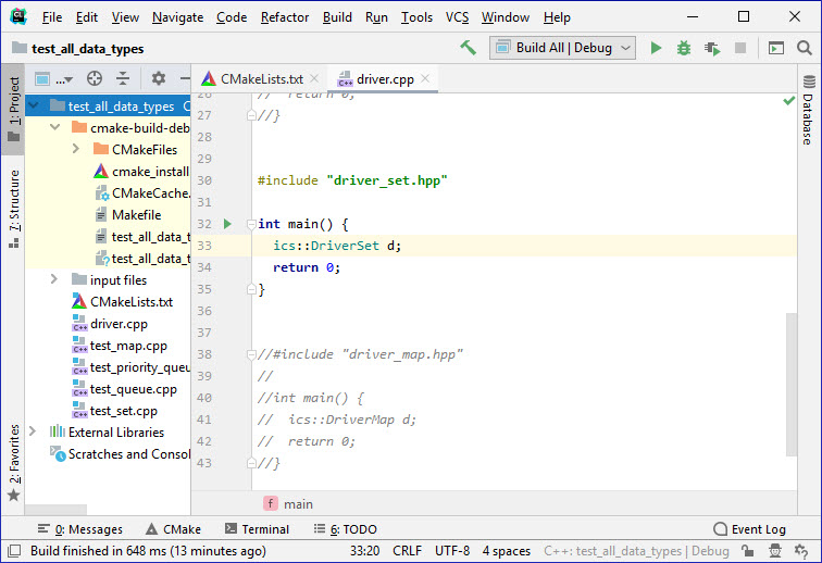 CLion IDE: Downloading, Installing, and Testing