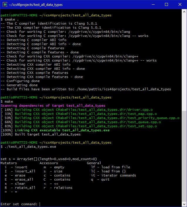 Command Line Cygwin Tools