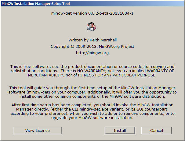 MinGW C++ Download and Installation Instructions