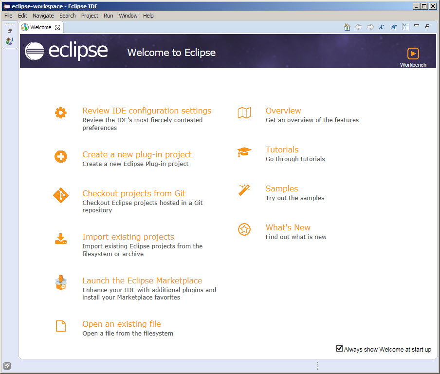 Eclipse Download and Installation Instructions