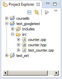GoogleTest Installation and Use in Eclipse/C++ Instructions