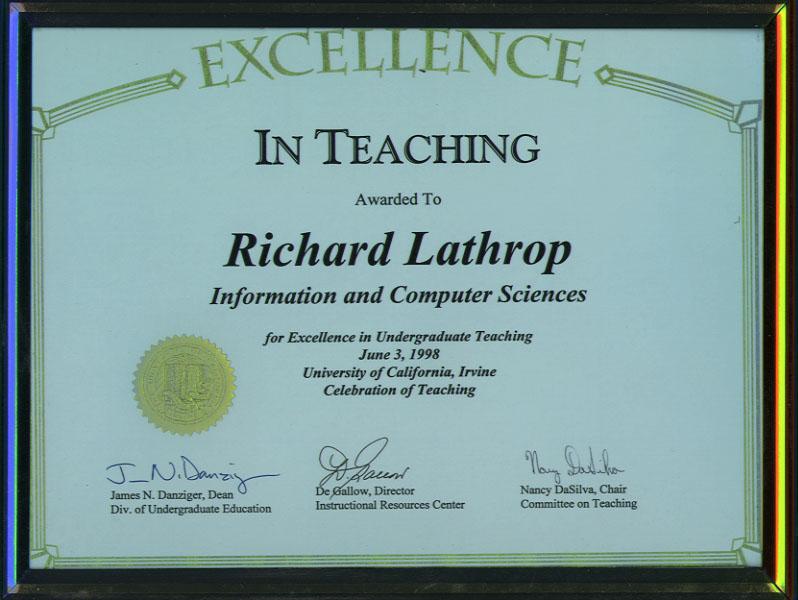 Richard H. Lathrop summary